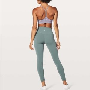 Lululemon Align Pant II 25 Sea Steel Leggings 10
